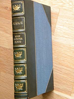Porius: John Cowper Powys - RARE LIMITED EDITION, SIGNED & NUMBERED