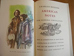 American Notes: Charles Dickens - SIGNED BY THE ILLUSTRATOR