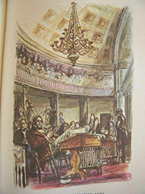 American Notes: Charles Dickens - LIMITED EDITIONS CLUB - SIGNED BY THE ILLUSTRATOR