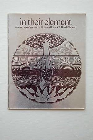 In Their Element - SIGNED BY SEAMUS: Seamus Heaney, Derek