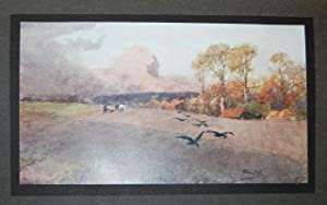 English Country Life: Walter Raymond - Wilfred Ball R.E. paintings