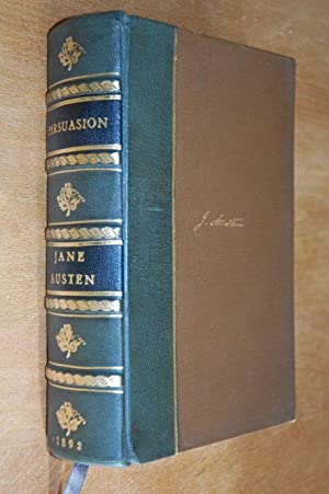 PERSUASION - Leather and gilt FINE BINDING: JANE AUSTEN - LIMITED EDITION