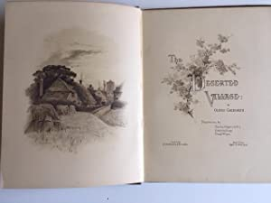 The Deserted Village - Chromolithographs throughout: Oliver Goldsmith - Illustrated by Charles ...