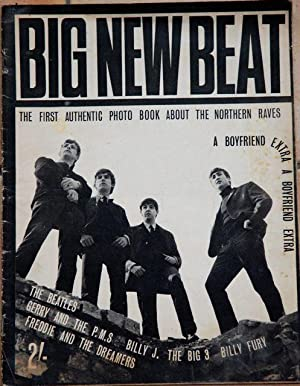 Big New Beat: The BEATLES - A Boyfriend Extra Supplement - VERY RARE INDEED