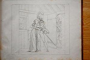 FAUST - Rare Bound Set: GOETHE - Moritz Retzsh Engravings