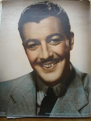 Robert Taylor: RARE! Double Crown Sized Cinema Portrait
