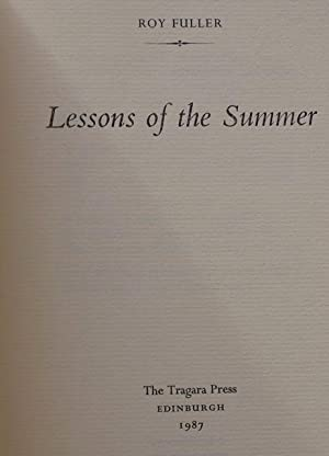 Lessons of the Summer: Roy Fuller
