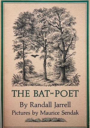 The Bat-Poet - SIGNED MAURICE SENDAK: Jarrell, Randall Illustrated