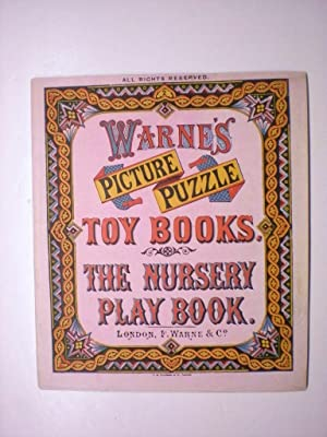 THE NURSERY PLAY BOOK. WARNE'S PICTURE PUZZLE TOY BOOKS