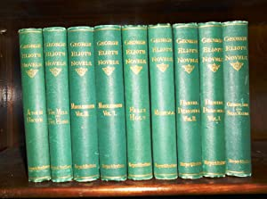 NOVELS Of GEORGE ELIOT- 9 VOLUMES: Eliot, George