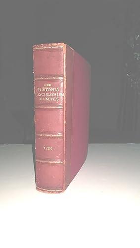HISTORIA MUSCULORUM HOMINIS: Albinus, Bernhard Siefried