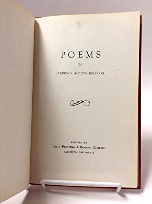 Poems: Kellogg, Florence Scripps