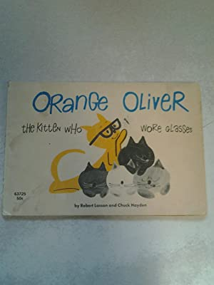 Orange Oliver the Kitten Who Wore Glasses: Lasson