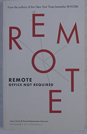 Remote: Remote Office Not Required