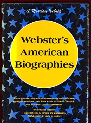 Webster's American Biographies