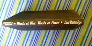 Words At War: Words At Peace