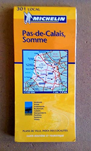 Michelin Road Map Of Pas-de-Calais And Somme (301)
