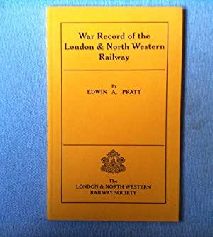 War Record Of The London & North Western Railway