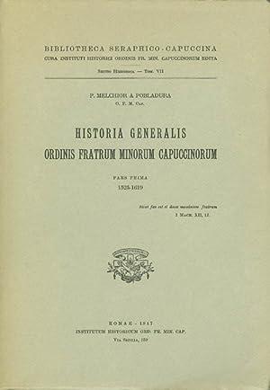 Historia Generalis Ordinis Fratrum Minorum Capuccinorum, Pars: Pobladura, P. Melchior