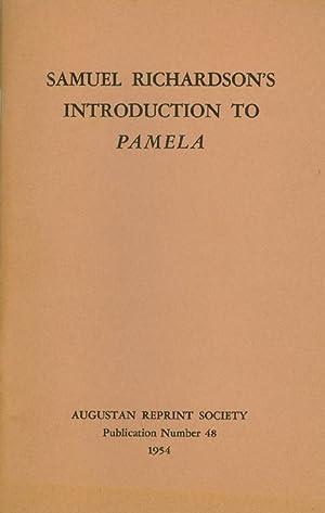 Introduction to Pamela. Publication Number 48.: Richardson, Samuel; Baker,