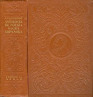 Antología de Poesía Sacra Española: Prat, Angel Valbuena (editor)