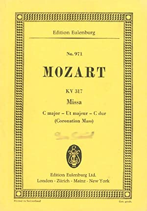 Missa C dur - Mass in C: Mozart, W. A.;