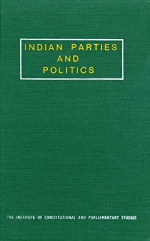 Indian Parties and Politics: Kashyap, Subhash C. (editor)