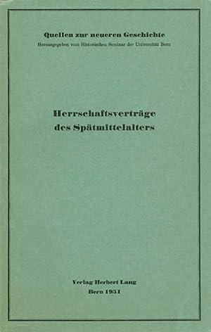 Herrschaftsverträge des Spätmittelalters: Die Goldene Bulle Andreas': Näf, Werner (ed.)