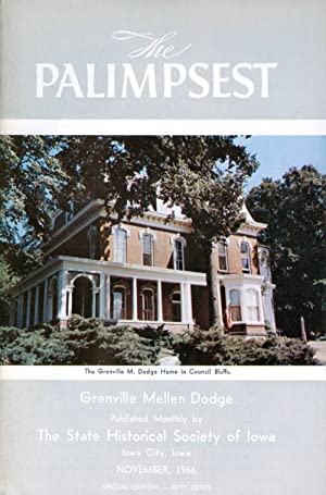 The Palimpsest - Volume 47 Number 11 - November 1966: Petersen, William J. (editor)