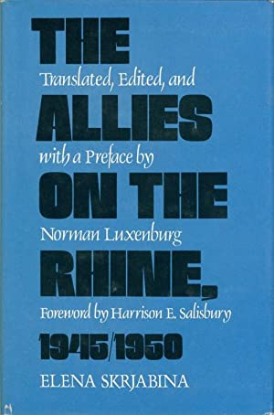 The Allies on the Rhine, 1945-1950
