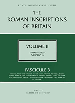 The Roman Inscriptions of Britain - Volume: Collingwood, R.G.; Wright,