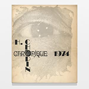 Collection OU Nr. 5: Chronique 1974