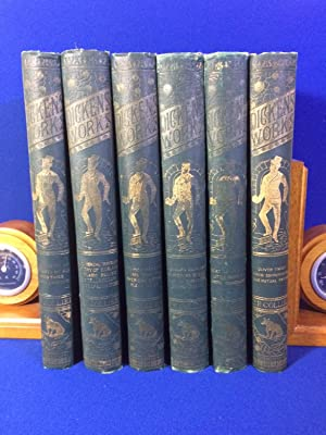 THE WORKS OF CHARLES DICKENS 6 VOLUME SET