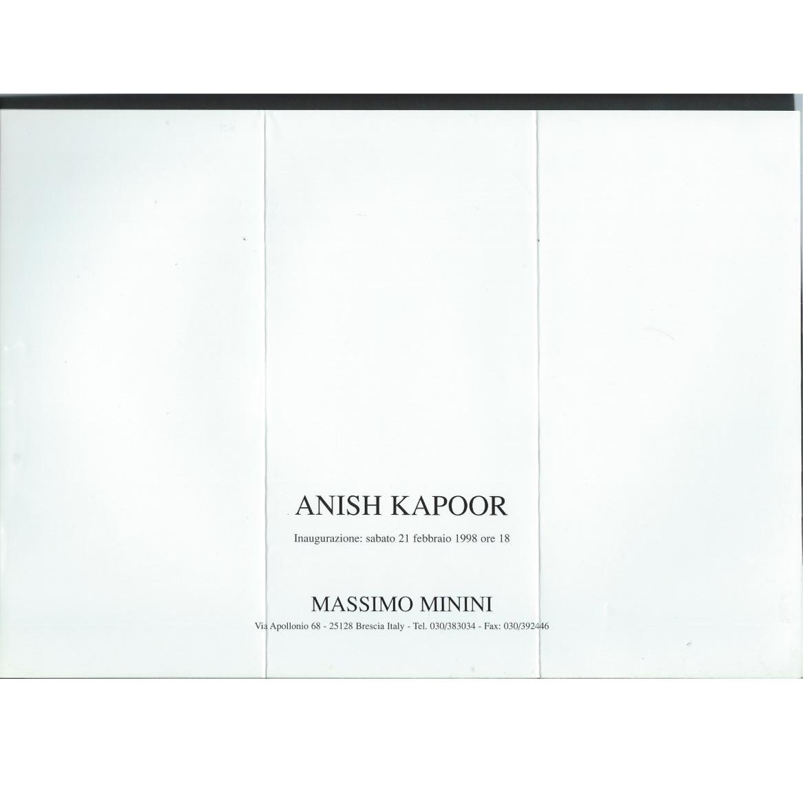 Anish_Kapoor__a_collection_of_6_announcements_Kapoor_Anish_Très_bon