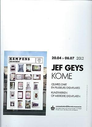 Jef Geys : Kempens informatieboek nr. 1-: Geys, Jef