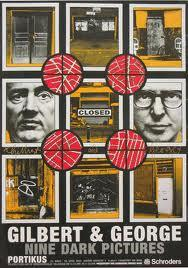 Gilbert & George : Nine Dark Pictures (poster)