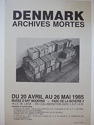 Denmark : Archives Mortes (poster)