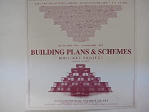 Guy Bleus : Building Plan & Schemes - Mail-art project (poster)