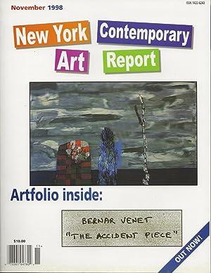 New York Contemporary Art Report - November: Sand, Olivia J.