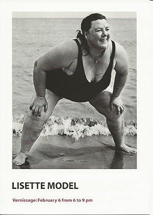 Lisette Model (announcement): Model, Lisette