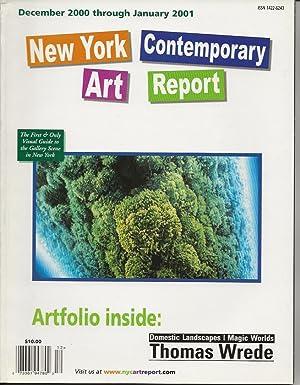 New York Contemporary Art Report - December: Sand, Olivia J.