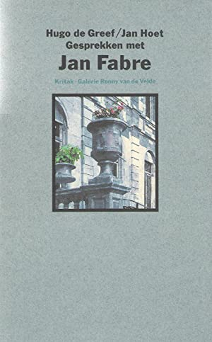 Gesprekken Met Jan Fabre: Fabre, Jan -