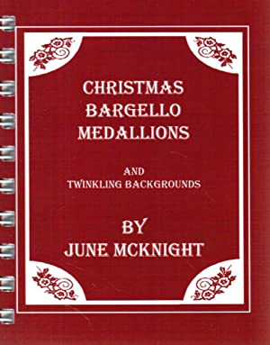 Christmas Bargello Medallions and Twinkling Backgrounds: June McKnight