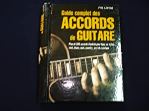 Guide complet des accords de guitare.