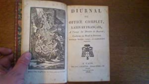 Diurnal ou office complet, latin et français