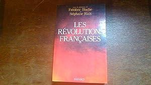 Les Révolutions françaises: Frédéric Bluche et