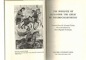 The romance of Alexander the Great by: Wolohojian, Albert Mugrdich