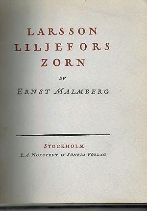 Larsson Liljefors Zorn En Aterblick: Malmberg, Ernst