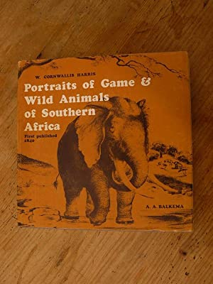 Portraits of Game & Wild Animals of: Harris Cornwallis W.