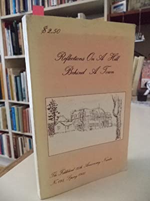 Reflections On A Hill Behind A Town.: Gibbs, Robert (edited